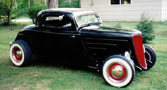1934 Ford - Hood Painted