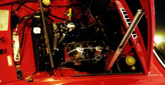 1973 MGB/GT - Engine Compartment