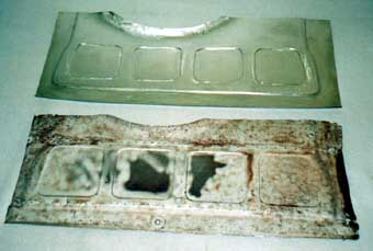 Mini rear floor